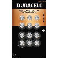 Duracell Lithium 2032 Coin Batteries,12 Count