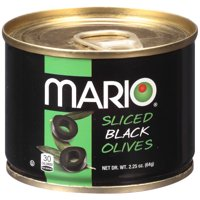 Mario Black Olives, Sliced, 2.25 Oz
