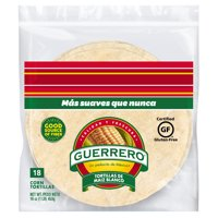 Guerrero White Corn Tortillas 18 ct Bag