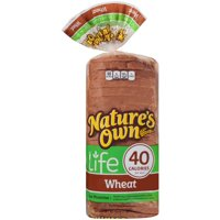 Nature's Own® Life 40 Calorie Wheat Bread 16 oz. Bag
