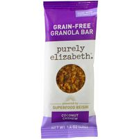 Purely Elizabeth Whole Food Nut + Seed Bar, Coconut Cashew