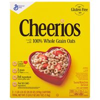 General Mills Cheerios, 2 x 20.35 oz