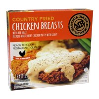 Mistica Ranch Meats Country Fried Chicken Breasts 5 Count With Gravy
