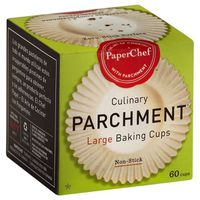 PaperChef Culinary Parchment Large Baking Cups
