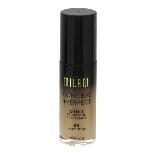 Milani Conceal + Perfect 2-In-1 Foundation + Concealer 05 Warm Beige