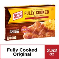 Oscar Mayer Original Fully Cooked Bacon, 2.52 oz Box