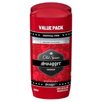 Old Spice Red Collection Swagger Deodorant for Men - 2.6oz/2pk