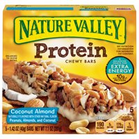 Nature Valley Chewy Granola Bar Protein Coconut Almond 5 Bars - 1.4 oz