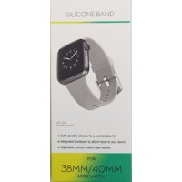 Apple Watch 38mm & 40mm Silicon Band, Gray