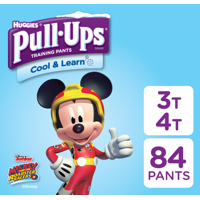 Pull-ups Boys' Cool & Learn Training Pants, Size 3T-4T, 84 Count