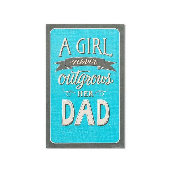 Father's Day Card Dad Hero from Daughter