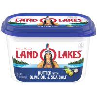 Land O Lakes Butter with Olive Oil & Sea Salt, 13 oz.