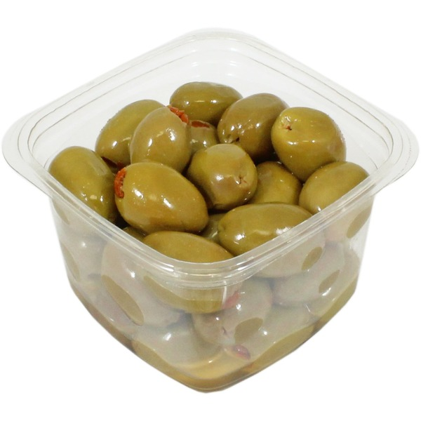 Divina Mt. Athos Green Olives Stuffed With Sun Dried Tomatoes In Oil