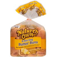 Nature's Own® Hot Dog Butter Buns 8 ct Bag