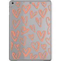onn. Snap-on iPad Case For iPad 9.7-inch (6th gen/2018), 9.7-inch (5th gen/2017), iPad air, iPad air 2 & iPad Pro 9.7-inch, Hearts
