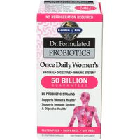 Garden Of Life Dr. Formulated Probiotics Probiotics, Once Daily Women's, Vegetarian Capsules