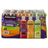 Kirkland Signature Sparkling Flavored Water, 24 x 17 fl oz