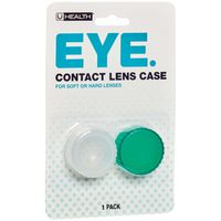 Uhealth Contact Lens Case, Blister Pack
