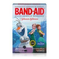Band Aid Brand Adhesive Bandages Featuring Disney Frozen, Assorted Sizes