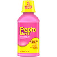 Pepto-Bismol Pepto Original Liquid for Nausea, Heartburn, Indigestion, Upset Stomach