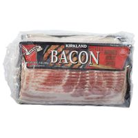 Kirkland Signature Low Sodium Bacon, 4 x 1 lb