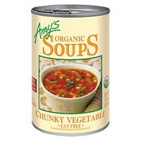 Amy's Organic Fat Free Chunky Vegetable Soup 14.3oz