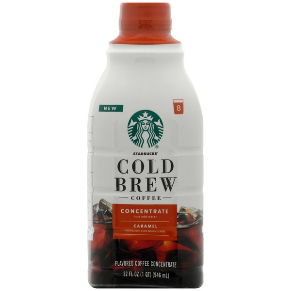 Starbucks Cold Brew Coffee — Caramel Dolce Flavored