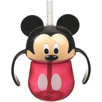 Disney Mickey Mouse Insulated Cup with Straw & Lid 9 Oz