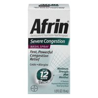 Afrin Nasal Spray Severe Congestion
