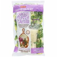 H-E-B Select Ingredients Chopped Cracked Pepper Caesar Salad Kit