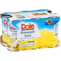 Dole 100% Pineapple Juice - 6 CT