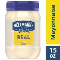 Hellmann's Mayonnaise For Delicious Sandwiches Real Rich In Omega 3-Ala 15 Oz