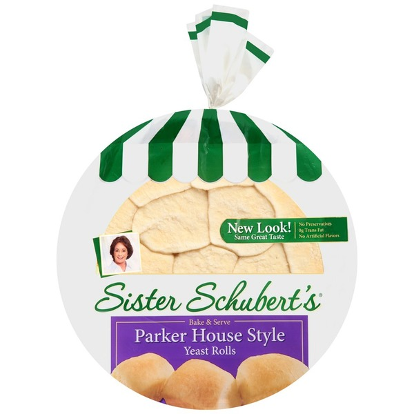 Sister Schubert S Parker House Style Yeast Rolls From H E B In