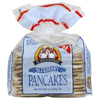 De Wafelbakkers Frozen Blueberry Pancakes, 24 ct, 2 lbs. 1oz