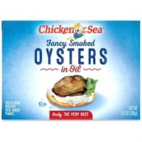 Chicken of the Sea Fancy Smoked Oysters - 3.75oz