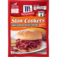 McCormick Slow Cookers Sweet & Smoky Pulled Chicken 1.25 oz