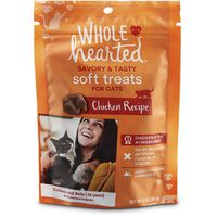 Whole Hearted Chicken Recipe Savory & Tasty Soft Treats For Cats