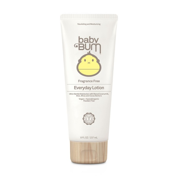 Baby Bum Everyday Lotion, Fragrance Free - 8oz