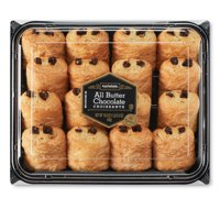 Marketside All Butter Chocolate Croissants, 16.9 oz, 16 Count