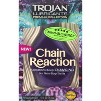 Trojan Lubricants Premium Collection Chain Reaction Personal Lubricant