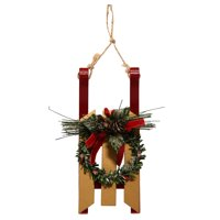 Holiday Time; Christmas Ornaments; Sled Ornament; 1-Pack