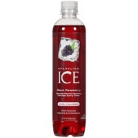 Sparkling Ice® Naturally Flavored Sparkling Water, Black Raspberry 17 Fl Oz