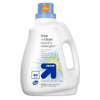 Free + Clear & Gentle Laundry Detergent - 100 fl oz - Up&Up™