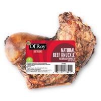 Ol' Roy Natural Beef Knuckle, Naturally Smoked, 1 Pack
