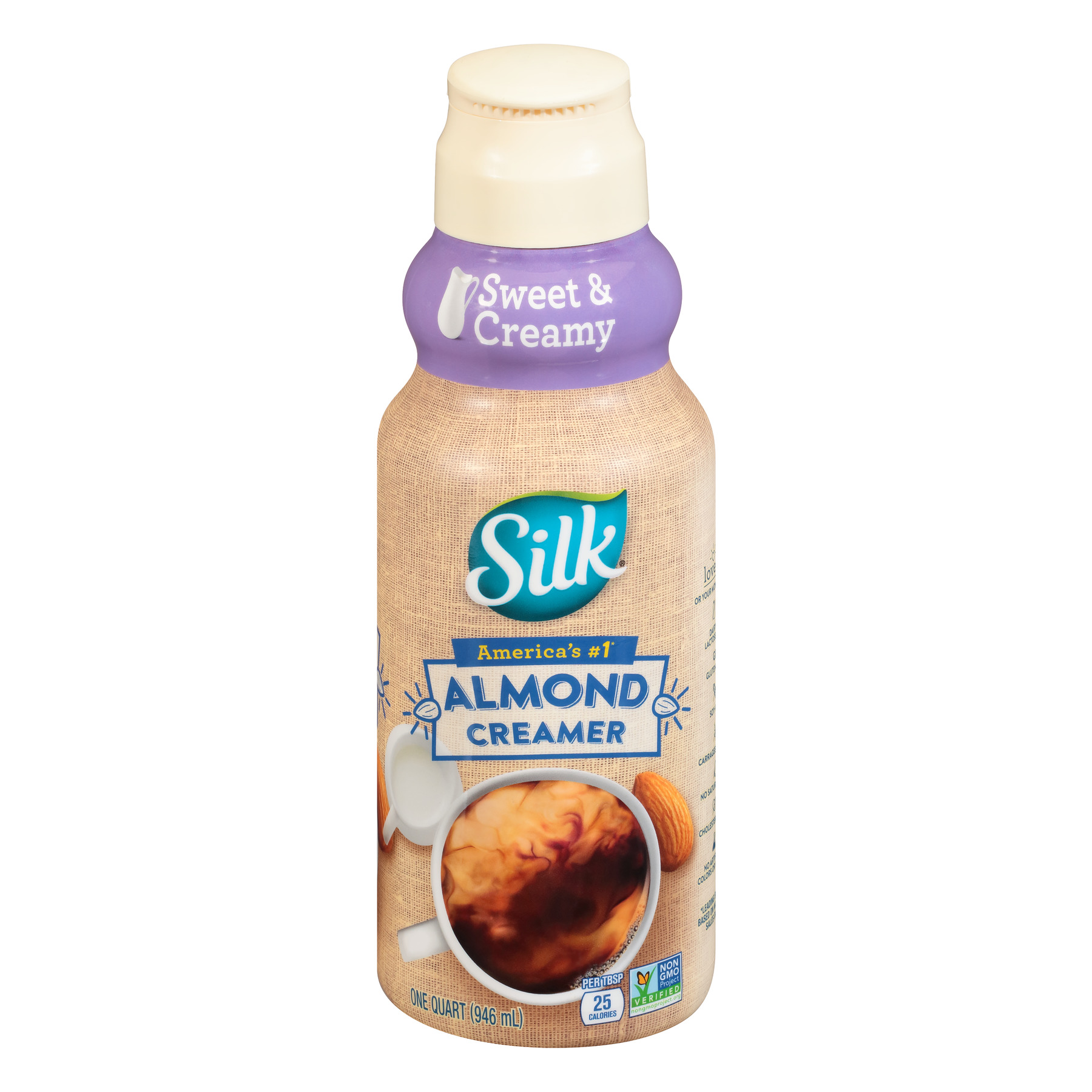 Silk Sweet & Creamy Almond Creamer 32 oz.