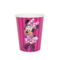 Minnie Mouse Paper 9oz Cups, 8ct