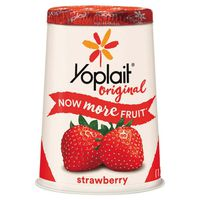 Yoplait Yogurt, Lowfat, Original, Strawberry