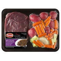Tyson® Ready for Slow Cooker Beef Roast with Vegetables Meal Kit, 3.90 lb.
