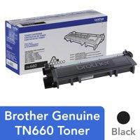 Brother Genuine High Yield Toner Cartridge, TN660, Replacement Black Toner, Page Yield Up To 2,600 Pages