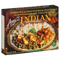 Amy's Indian Frozen Mattar Paneer - 10oz